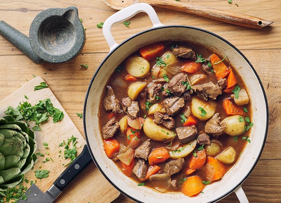 artichoke-beef-stew