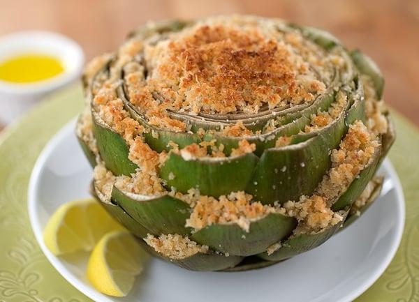 italian-stuffed-artichokes-new-orleans-heat