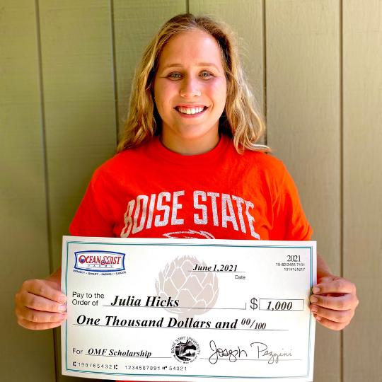 Julia-Hicks-OMF-Scholarship