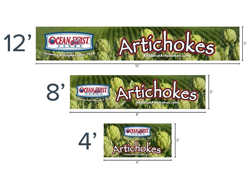 artichoke banner