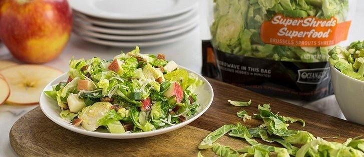 SuperShreds Apple and Bacon Salad
