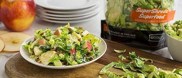 SuperShreds Apple and Bacon Salad