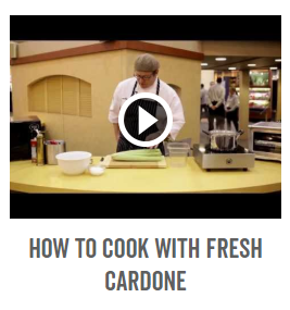 How To Cook with Fresh Cardone