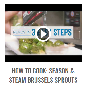 How to Cook- Season & Steam Brussels Sprouts