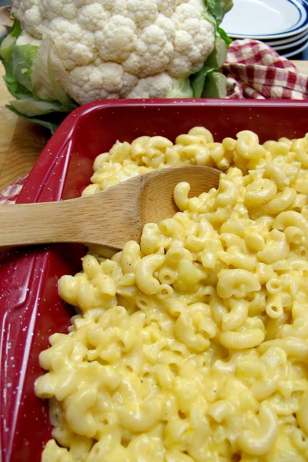 Cauliflower Mac n Cheese 3