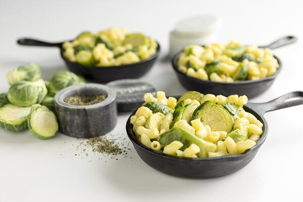 Cheesy Mac and Sprouts2
