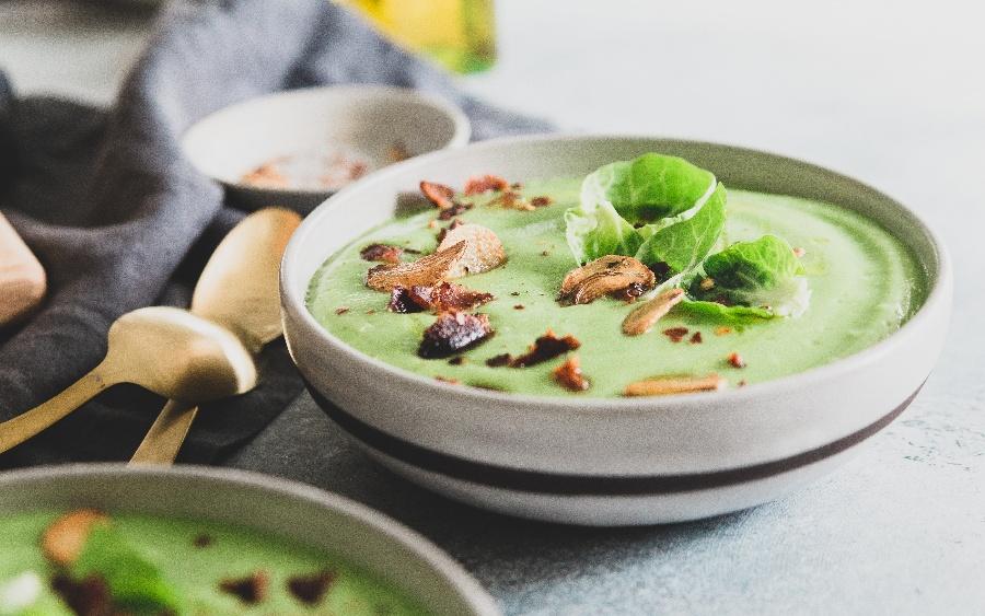 Creamy Garlic Brussels Sprout Soup HR-4-1