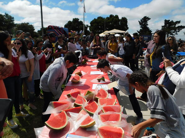 OMF Annual Company Picnic- Watermelon Eating Contest