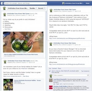 90 Day Giveaway_Facebook post samples_Ocean Mist Farms
