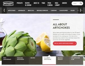 DeskTop Screenshot of New Oceanmist Website