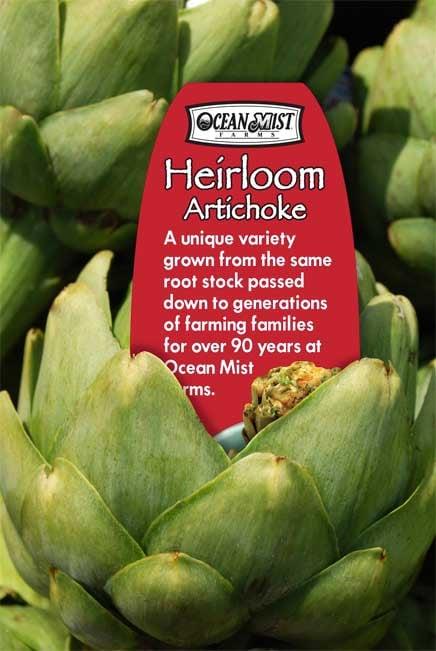 Ocean Mist Farms Heirloom Artichoke Petal Insert