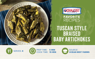 OMF-Braised Baby Artichokes Tuscan Style_Consumer Recipe Card