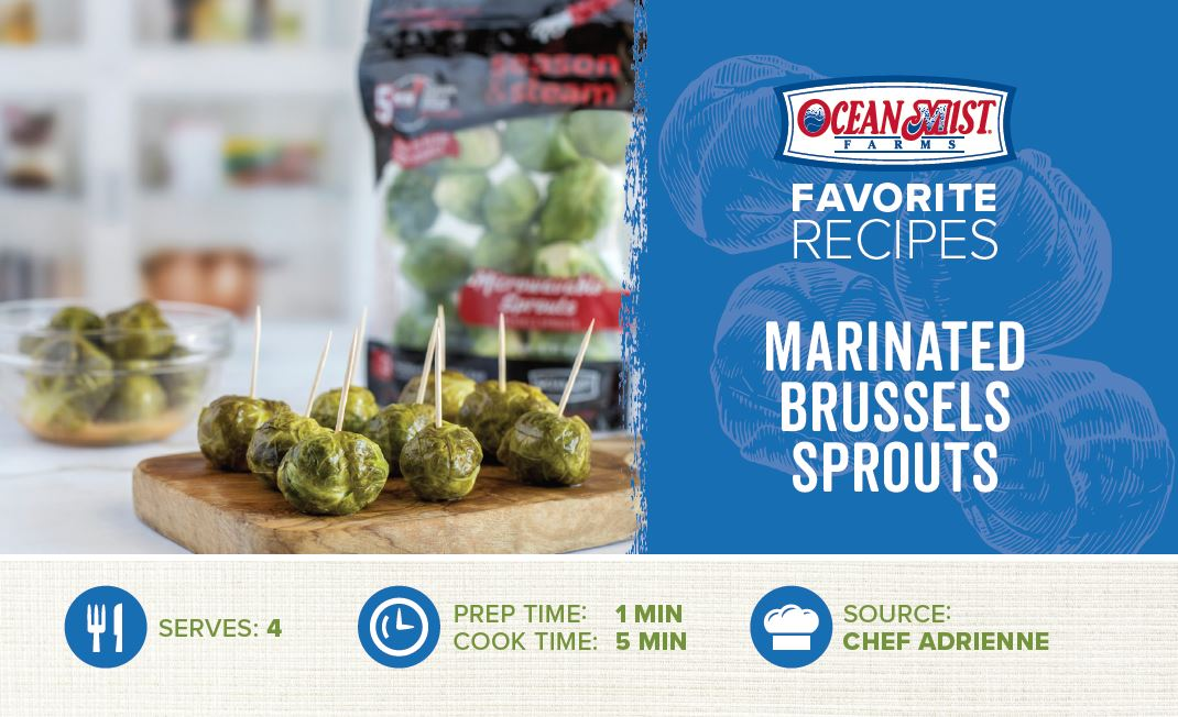 OMF-Marinated Brussels Sprouts Recipe Card- POS