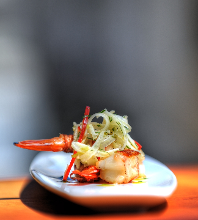 Pancetta Wrapped Shrimp