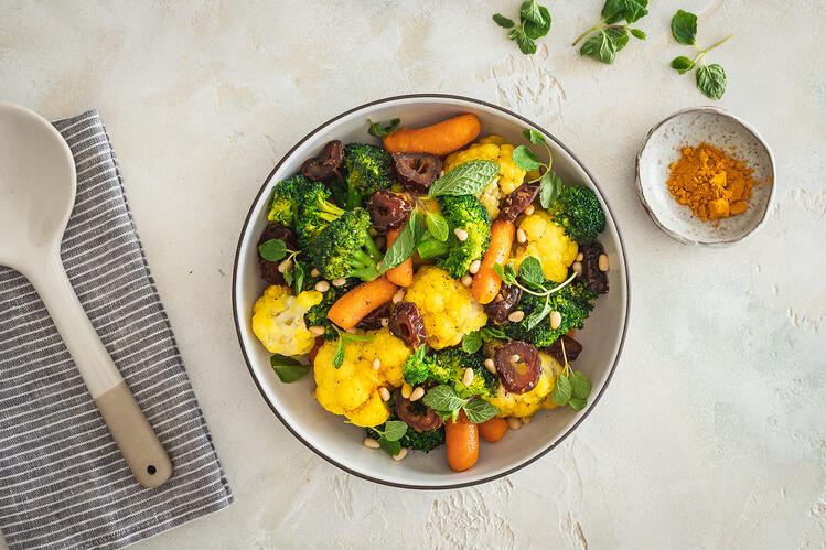 Turmeric Spiced Vegetables 1-1