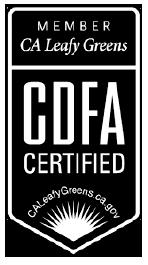CDFA Certified logo