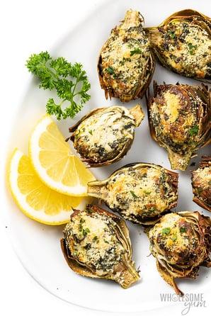 https://www.oceanmist.com/recipes/air-fried-stuffed-baby-artichokes