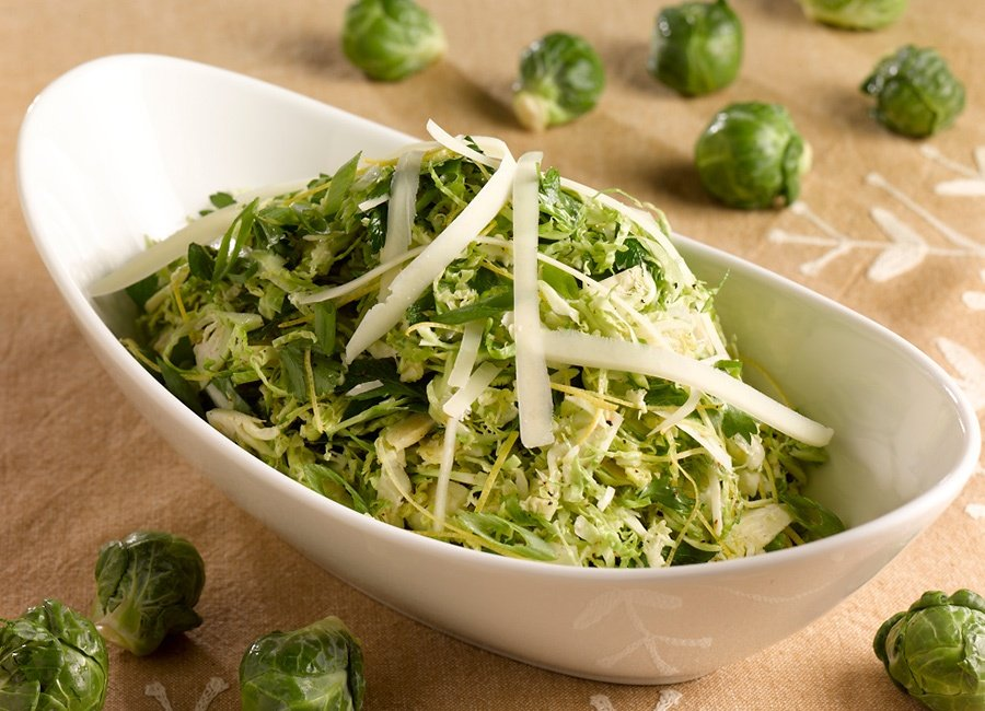 Citrus-Shaved-Shreds-Brussels-Sprouts-Salad