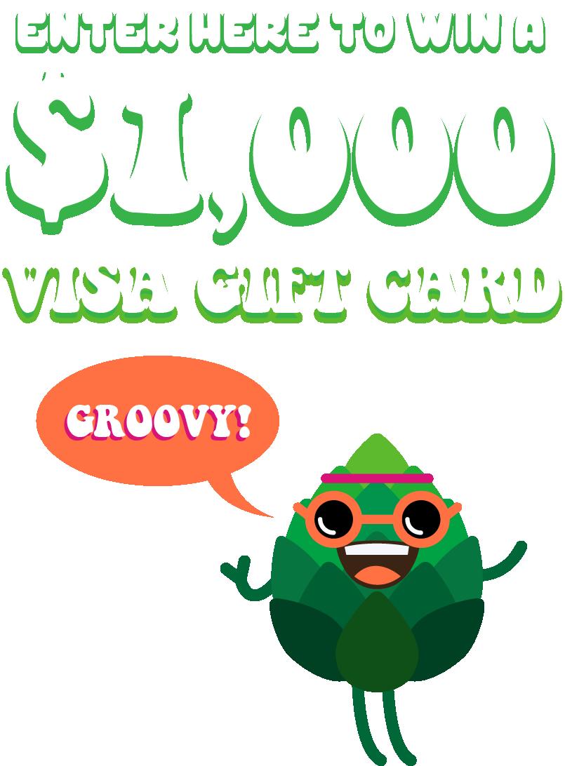 Enter to Win a $1000 Visa Gift Card