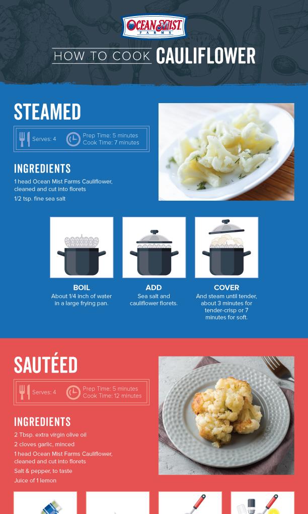 How to Cook Cauliflower Thumbnail
