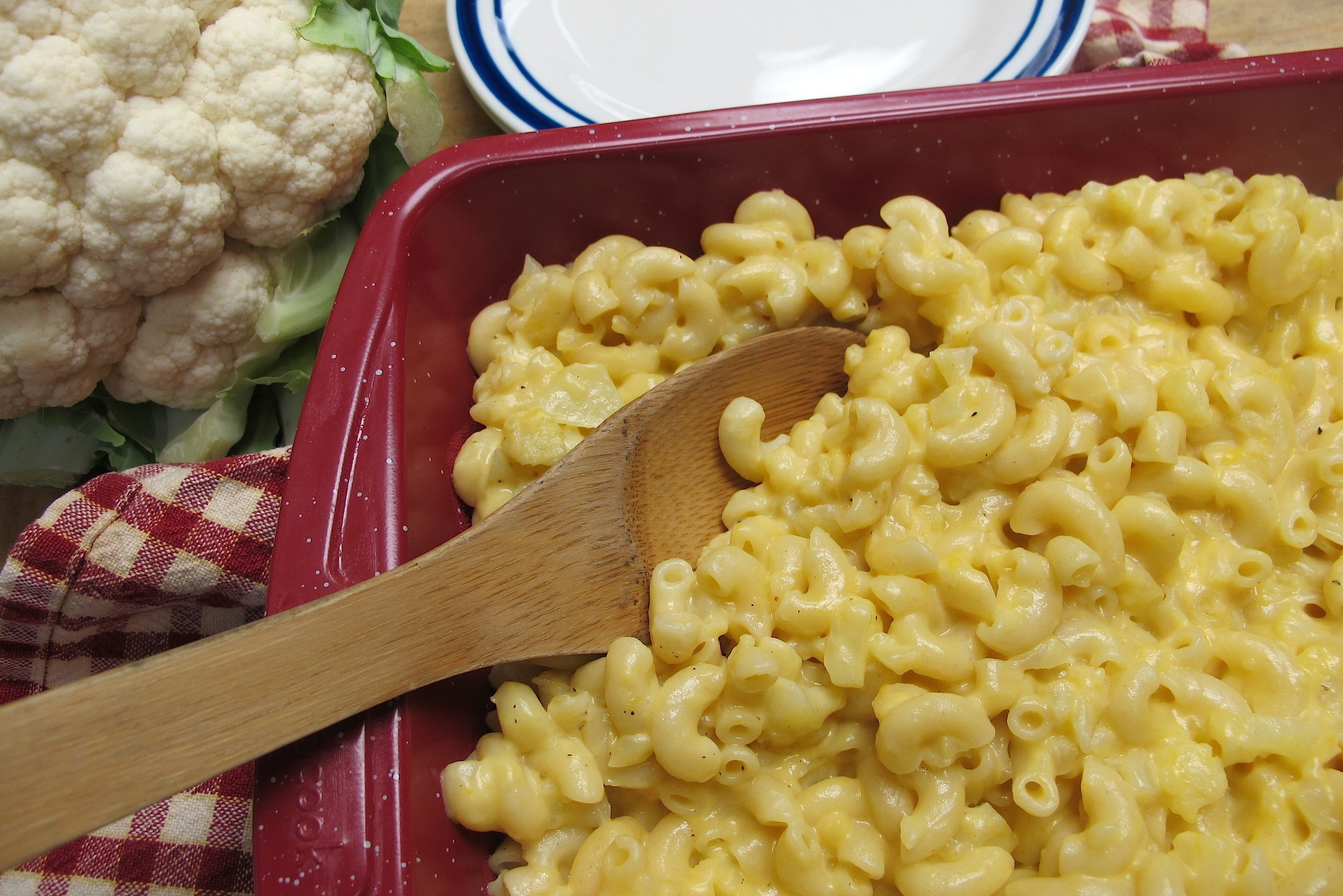 Cauliflower Mac n Cheese 1