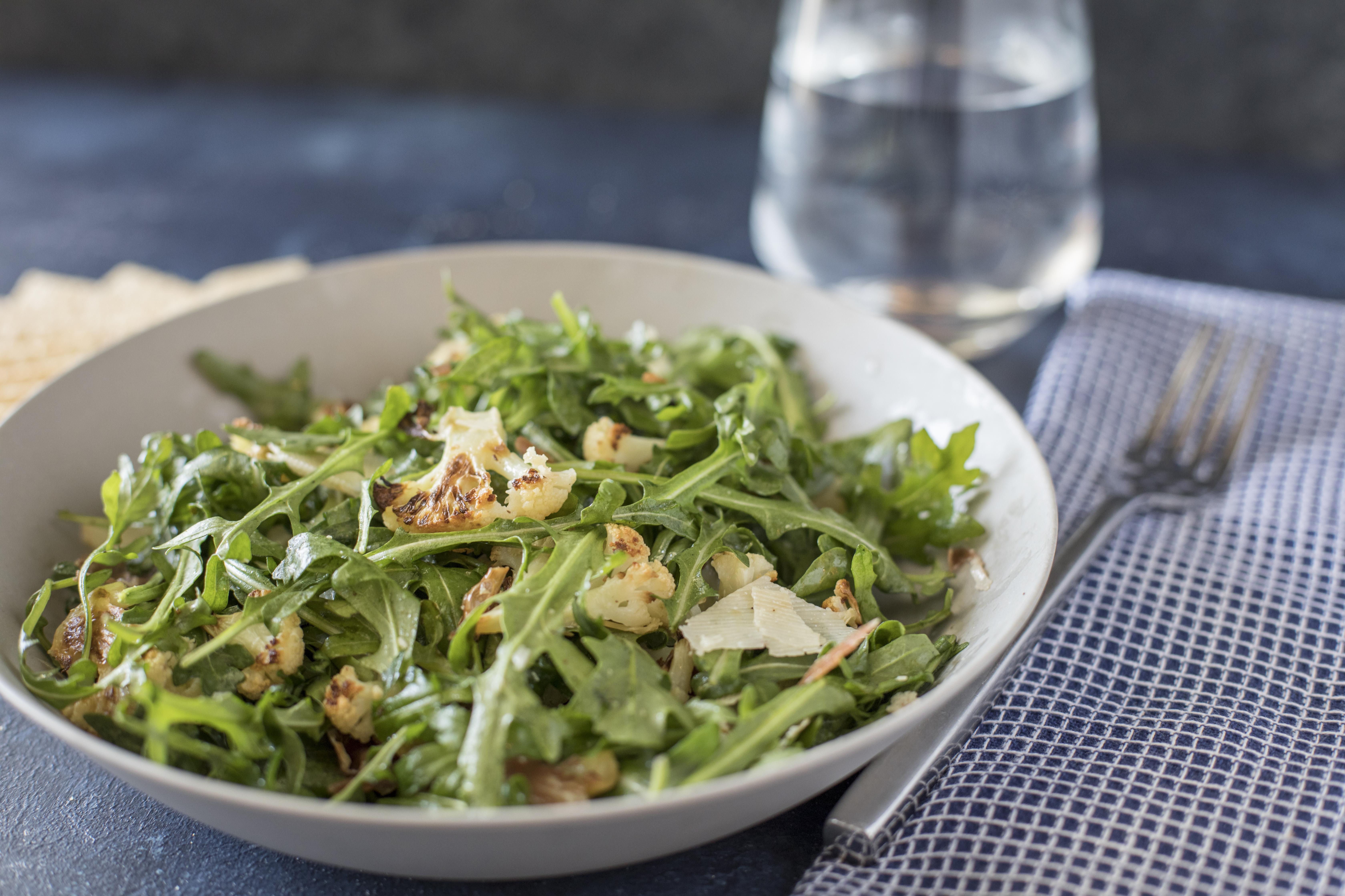 Cauliflower and Arugula Salad_8