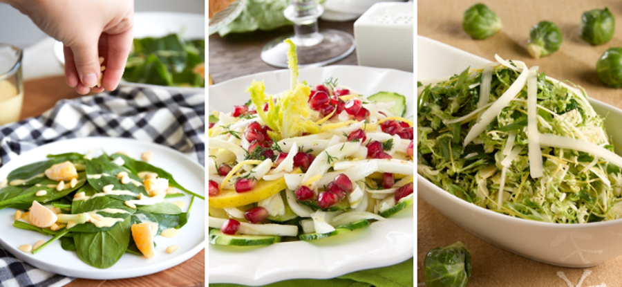 Fennel Summer Salads Collage-2