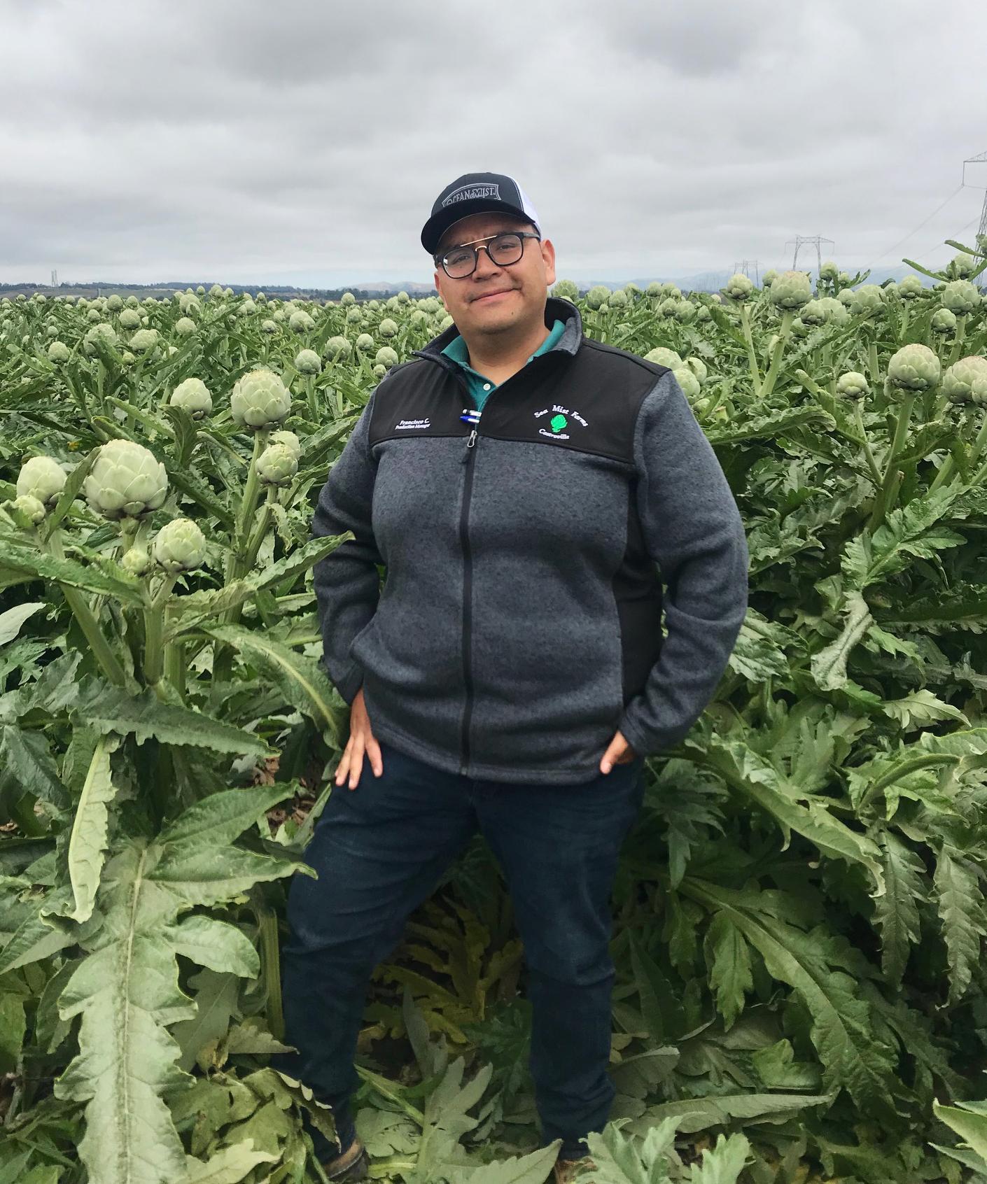 Francisco Castaneda- Production Manager Sea Mist Farms- Ocean Mist Farms