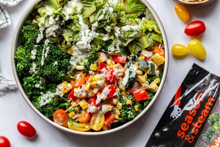 Easy Grilled Salad