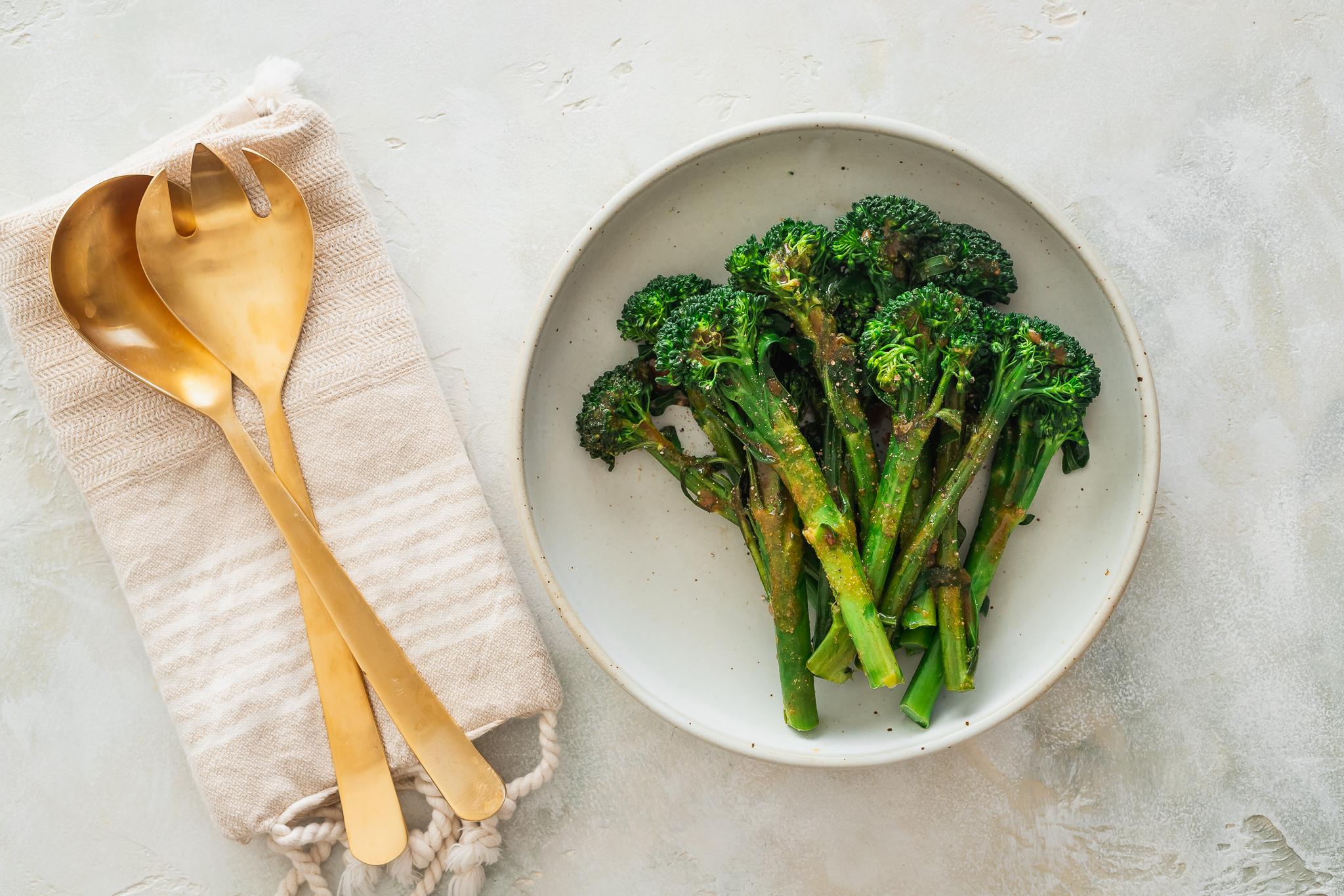 Hoisin Glazed Baby Broccoli